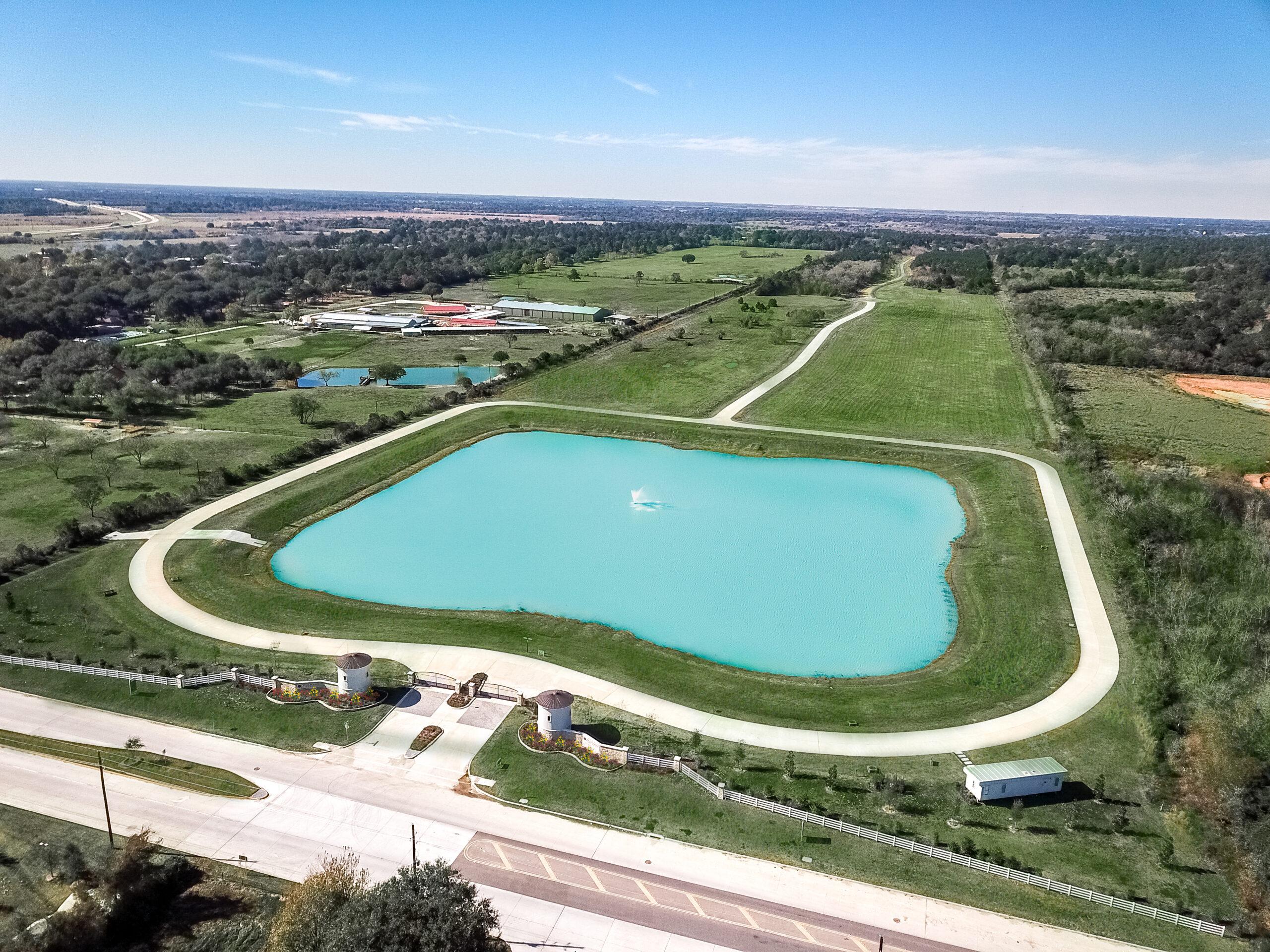 Tealpointe Lake Estates - Aerial View